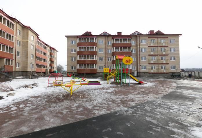 ЖК «Апрель» (февраль 2016)