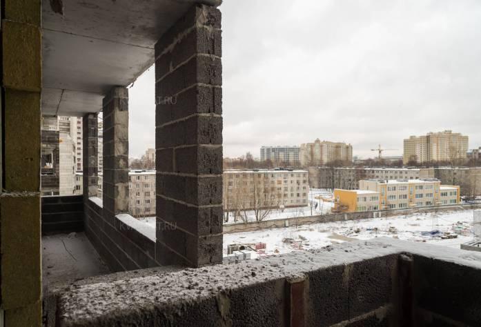 Строительство ЖК «Green City» (вид с балкона): 05.02.16