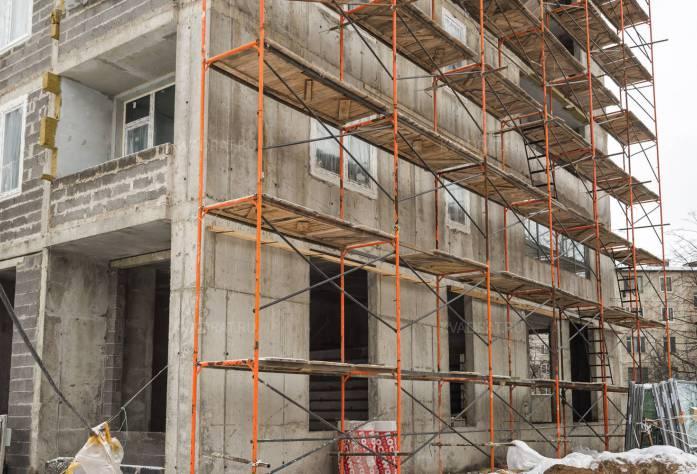 Строительство ЖК «Green City» (фасадные работы): 05.02.16