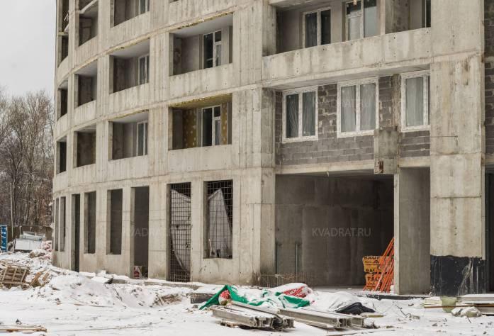Строительство ЖК «Green City» (фасад): 05.02.16