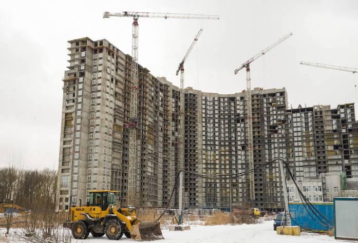 Строительство ЖК «Green City» (внешний вид): 05.02.16