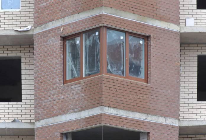 Строительство ЖК «Дюна» (фасад)