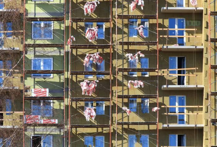 ЖК «Новая Охта»: ход строительства