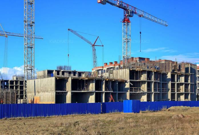 Строительство ЖК «Петергоф Парк»