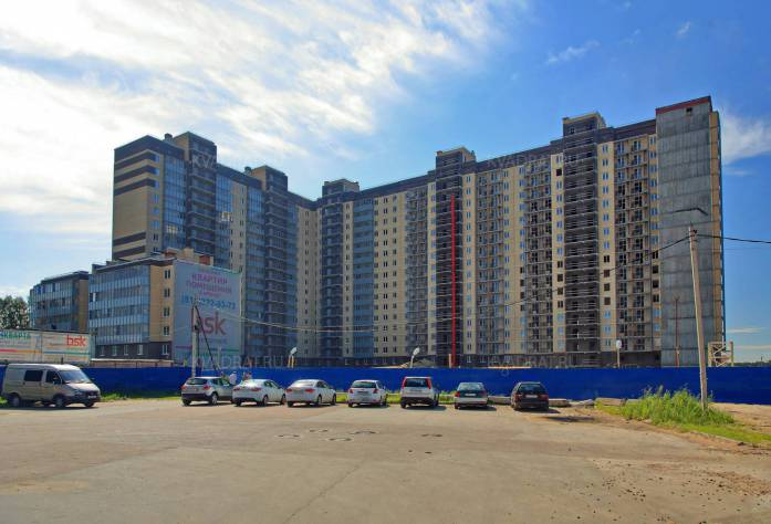 ЖК «Дом в Кировске»:  ход строительства (июль 2016)