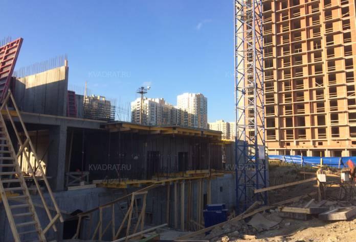 Жилой комплекс «4YOU»: октябрь 2016