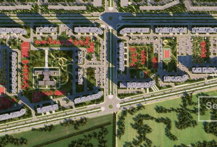 ЖК «Greenландия»: визуализация