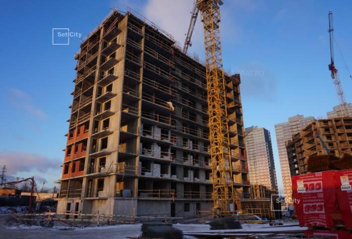 ЖК «Невские паруса»: ход строительства (декабрь 2016)