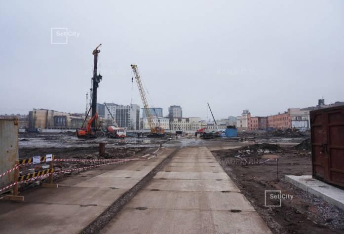 ЖК «Палаццио»: ход строительства (декабрь 2016)