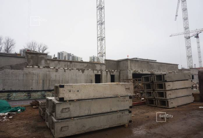 ЖК «Полюстрово парк»: ход строительства (декабрь 2016)