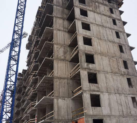Ход строительства ЖК «GreenЛандия 2»: февраль 2017