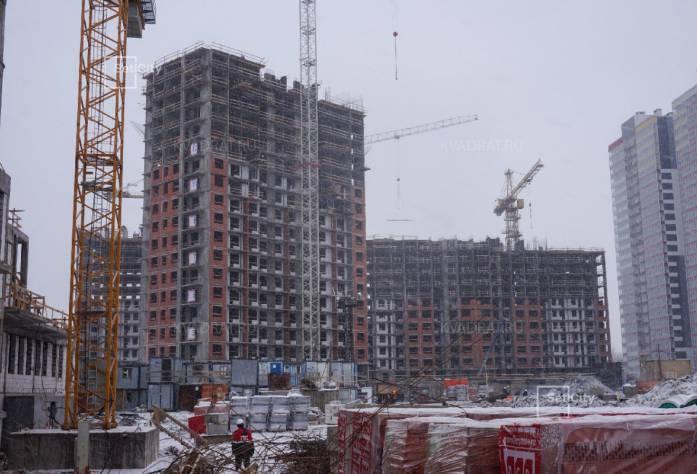 ЖК «Невские паруса» (февраль 2017)