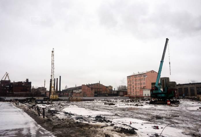 ЖК «Палаццио»: ход строительства (февраль 2017)