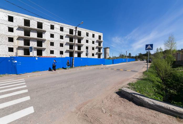 Ход строительства ЖК «Новое Рощино» (май 2017)