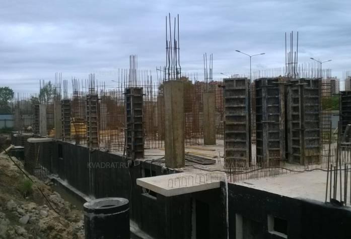 ЖК «КудроВО!»: ход строительства (июнь 2017 года)
