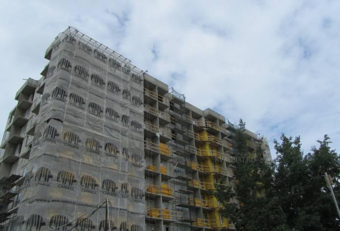 Ход строительства ЖК «Коломяги Плюс»: август 2017 года