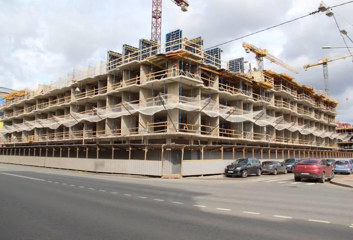 ЖК «Георг Ландрин»: ход строительства (апрель)