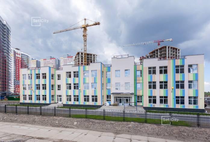 ЖК «Невские паруса»: июнь 2018 г.