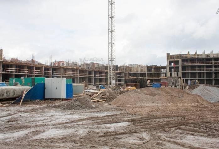 Ход строительства ЖК «ПаркЛэнд»: июнь 2018 г.