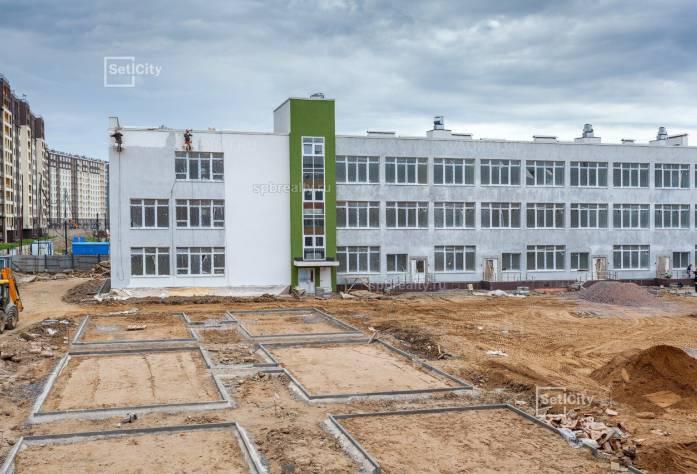 Ход строительства ЖК «Солнечный город»: июнь 2018 г.