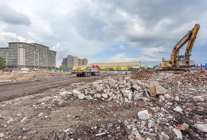 Ход строительства ЖК «Философия на Московской»: июнь 2018 г.